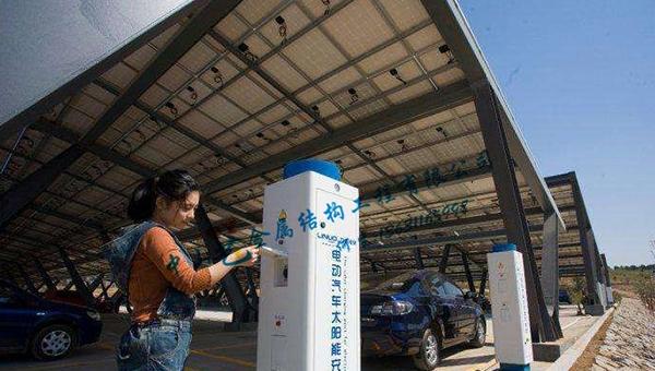 广州TY充电桩车棚-01