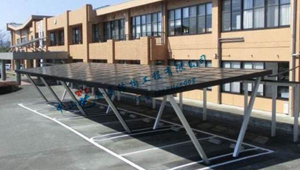太阳能自行车车棚