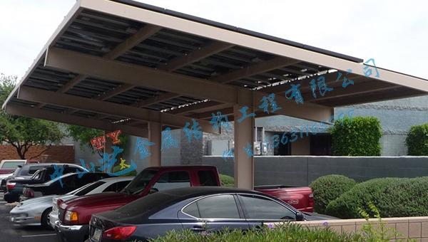 太阳能汽车棚