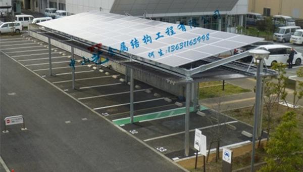 中山太阳能光伏车棚