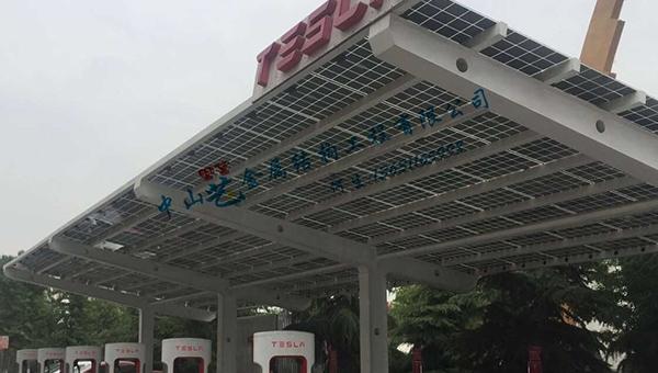 广州TY太阳能车棚-01