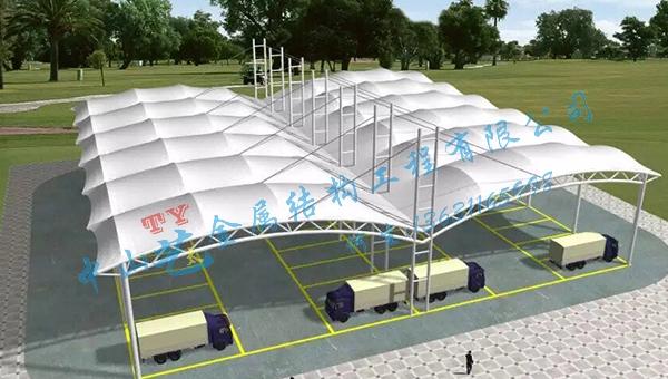 膜结构景观设施