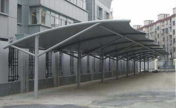 膜结构车棚-13