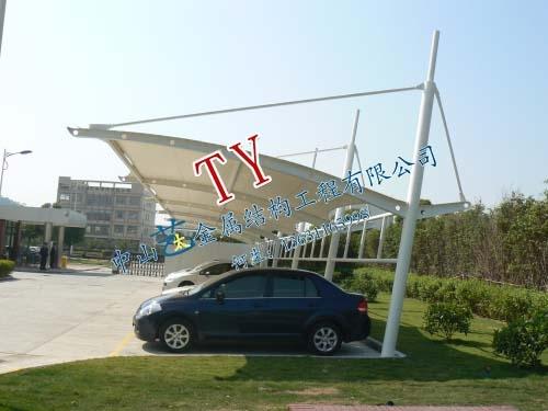 膜结构车棚-15